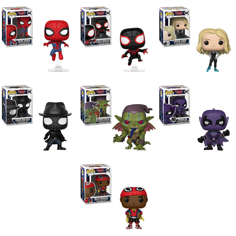 Spider-Man: Into the Spider-Verse Funko Pop!