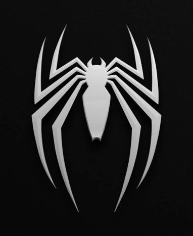 Marvel's Spider-Man 2 Game Logo on Black