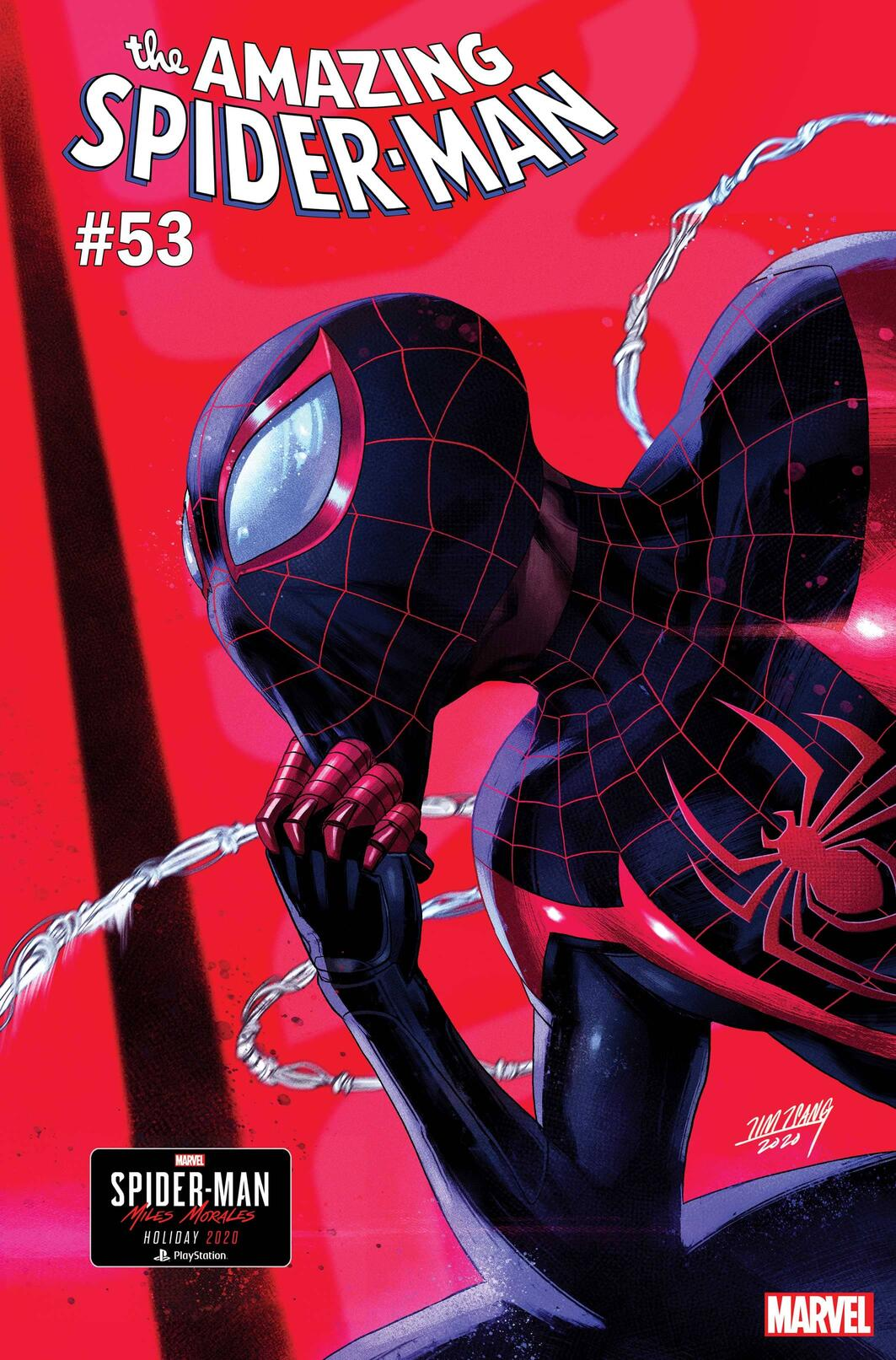 AMAZING SPIDER-MAN #53 cover by Marvel Games creative director Tim Tsang