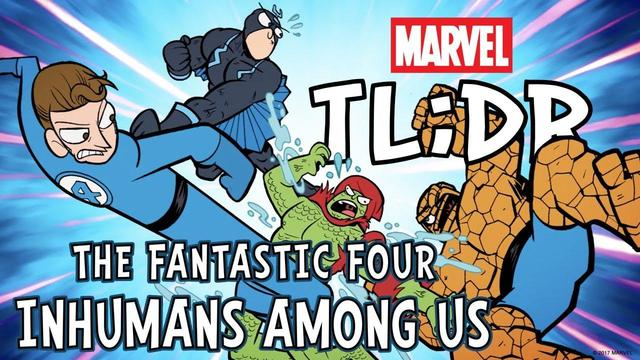 Fantastic Four: The Inhumans Among Us | Marvel TL;DR