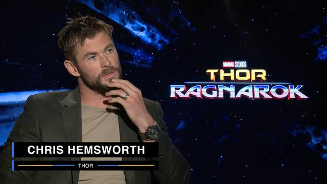 Chris Hemsworth on Marvel Studios' Thor: Ragnarok