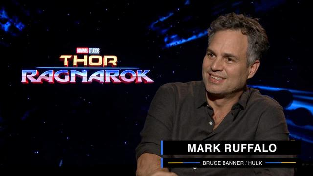 Mark Ruffalo on Marvel Studios' Thor: Ragnarok