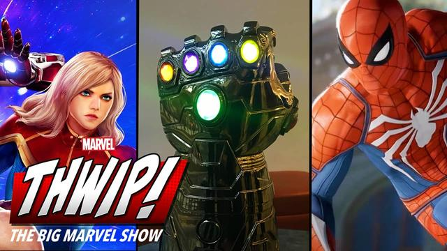 PlayStation Experience on THWIP! The Big Marvel Show!