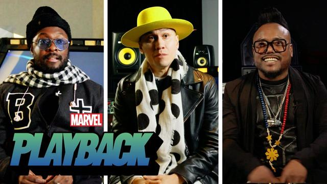 "The Black Eyed Peas Talk Marvel Comics | ""Marvel's Playback"" Ep. 3"