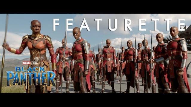 Marvel Studios' Black Panther   Warriors of Wakanda Featurette