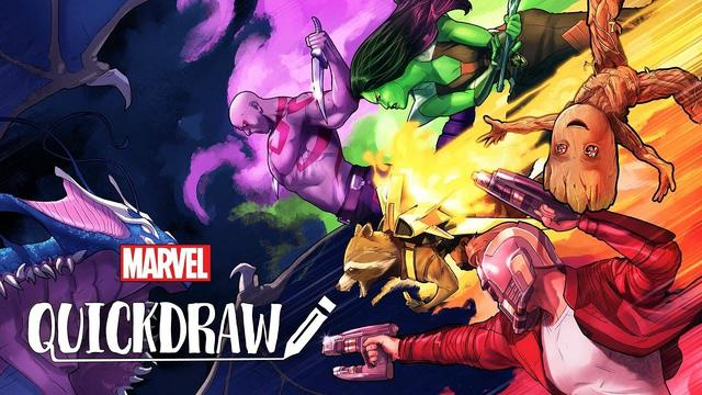 Jamal Campbell Draws Guardians of the Galaxy | Marvel Quickdraw
