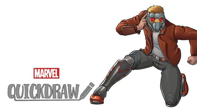 Mario DelPennino & Carlos Lopez Draw Star-Lord | Marvel Quickdraw