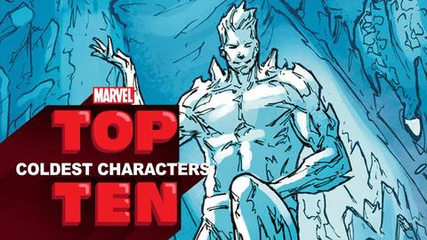 Marvel Top 10 Coldest Characters | Marvel Top 10