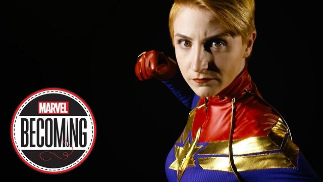Captain Marvel | Marveling Becoming | Cosplayer Marcy Schwerin