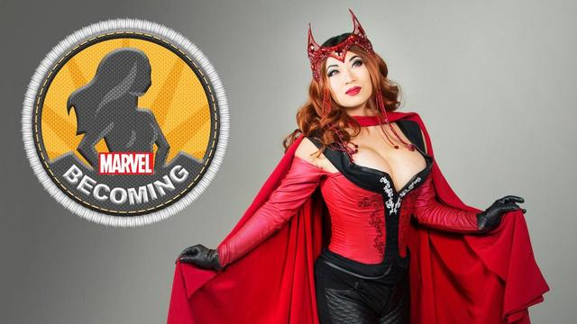Scarlett Witch | Marvel Becoming | Cosplayer Yaya Han