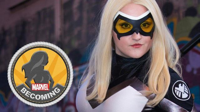 Mockingbird | Marvel Becoming | Cosplayer Castle Corsetry