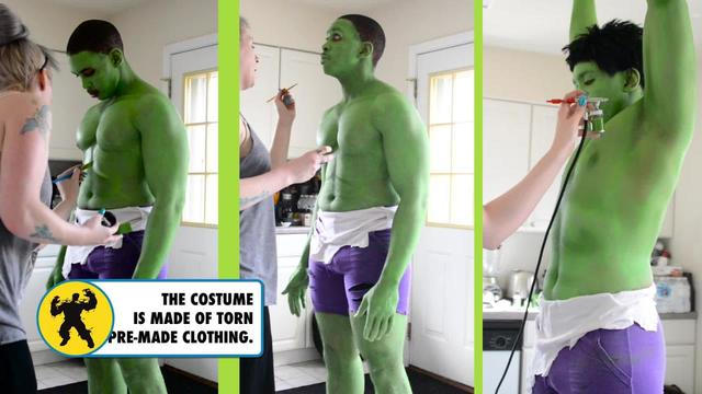 Hulk | Marveling Becoming | Cosplayer Ryan Green