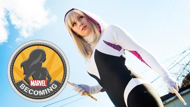 Spider-Gwen | Marvel Becoming | Cosplayer Kearstin