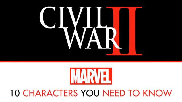 10 Characters to Know For Civil War II | Marvel Top 10
