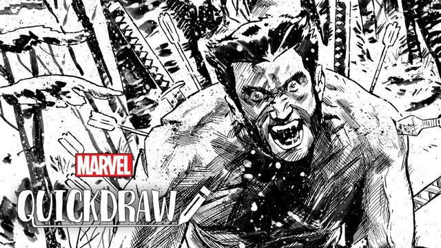 Mike Walsh Draws Wolverine | Marvel Quickdraw