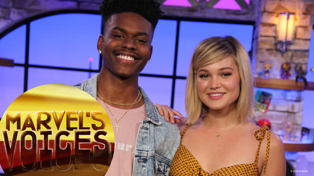 How music influences the stars of Marvel's Cloak and Dagger | Marvel's Voices
