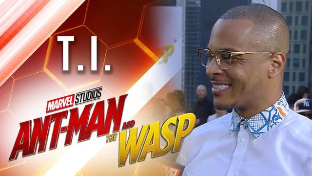 T.I. Live at Marvel Studios' Ant-Man and The Wasp Premiere