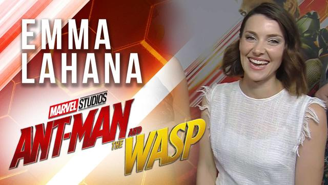 Emma Lahana Live at Marvel Studios' Ant-Man and The Wasp Premiere