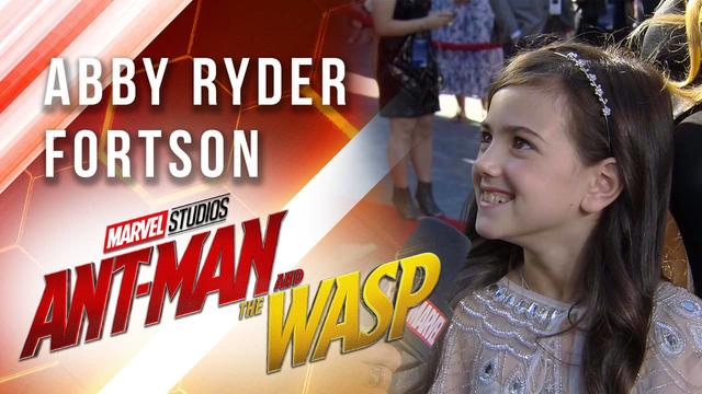 Abby Ryder Fortson at Marvel Studios' Ant-Man and The Wasp Premiere