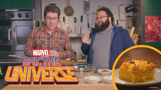 Eat the Universe: Episode 7 - Yancy Street Kugel (ft. Zach Cherry )