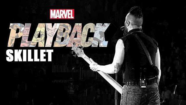 Skillet Rocks Marvel Comics | Marvel's Playback Ep. 2