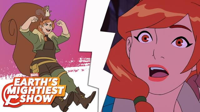 Get to know Squirrel Girl | Earth's Mightiest Show Bonus