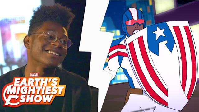 Details on Marvel Rising's Patriot | Earth's Mightiest Show Bonus