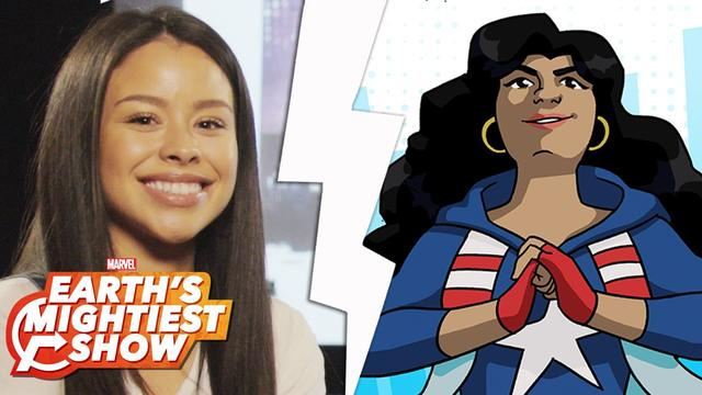 Get to know America Chavez from Marvel Rising! | Earth's Mightiest Show Bonus