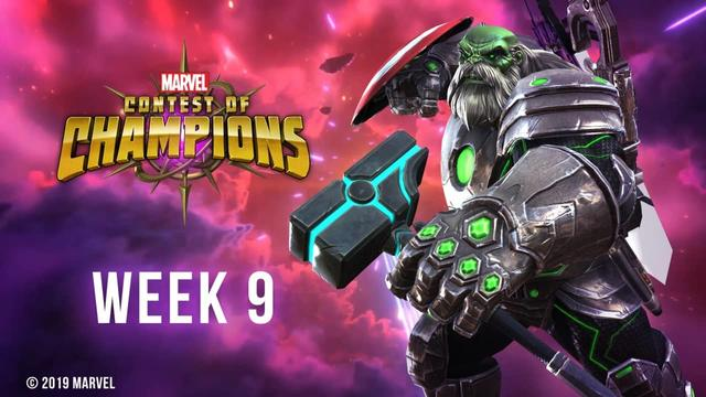 Marvel Contest of Champions Week 9
