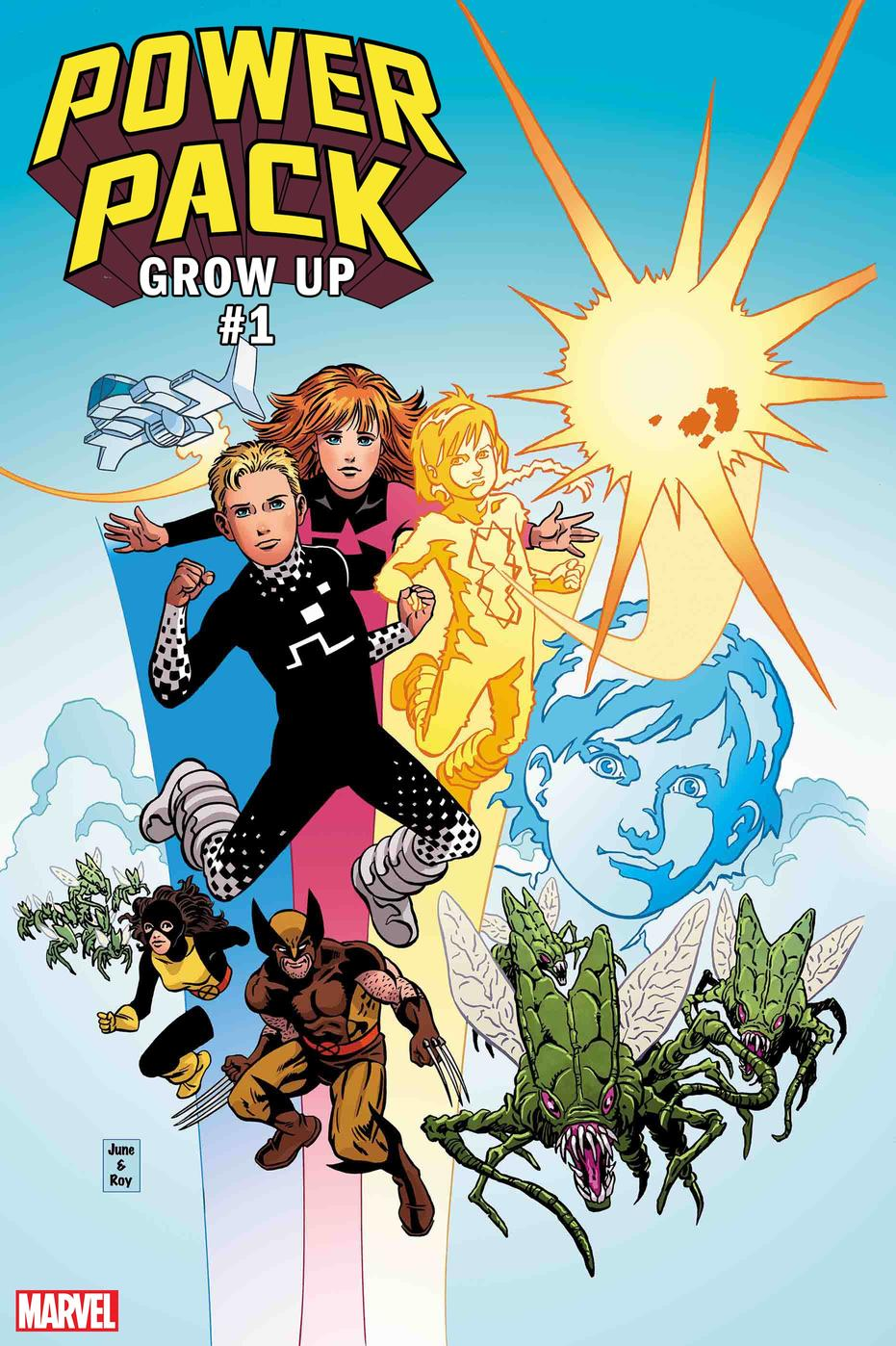 Power Pack: Grow Up #1
