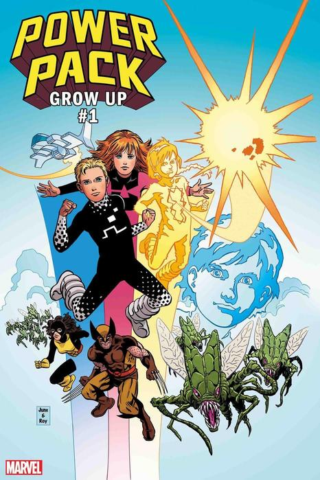 'Power Pack: Grow Up' #1
