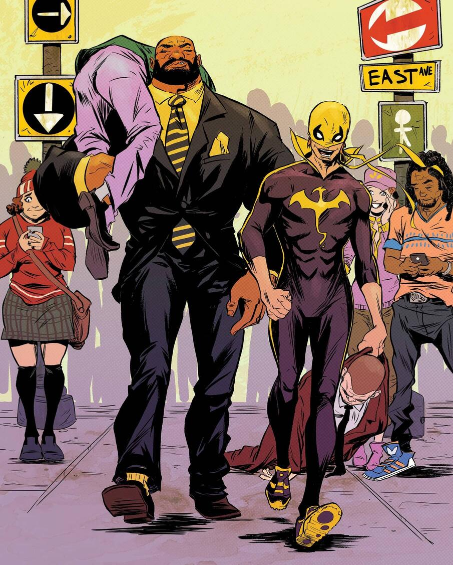 Cover to POWER MAN AND IRON FIST (2016) #2.