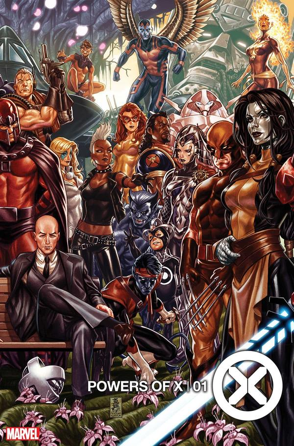 Powers of X variant Mark Brooks