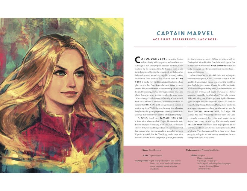 Powers Of A Girl - Captain Marvel
