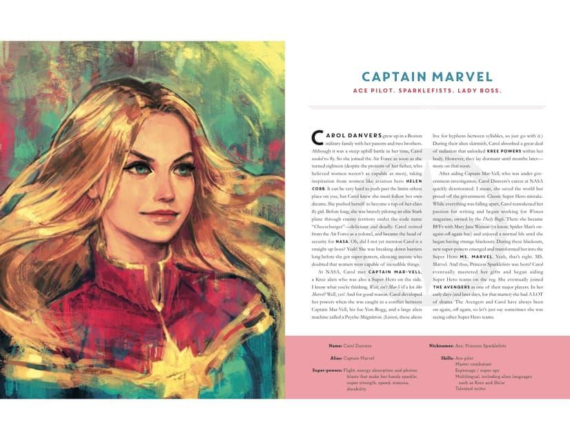Powers Of A Girl - Captain Marvel
