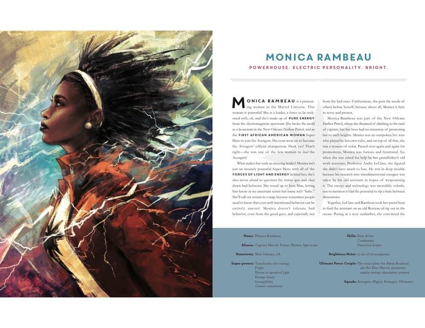 Powers Of A Girl - Monica Rambeau