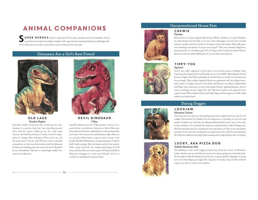 Powers Of A Girl - Animal Companions