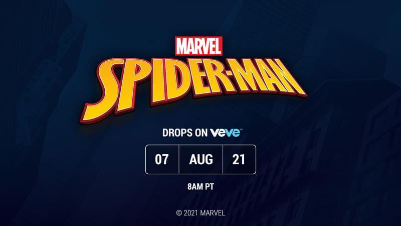Marvel Veve Spider-Man Reveal