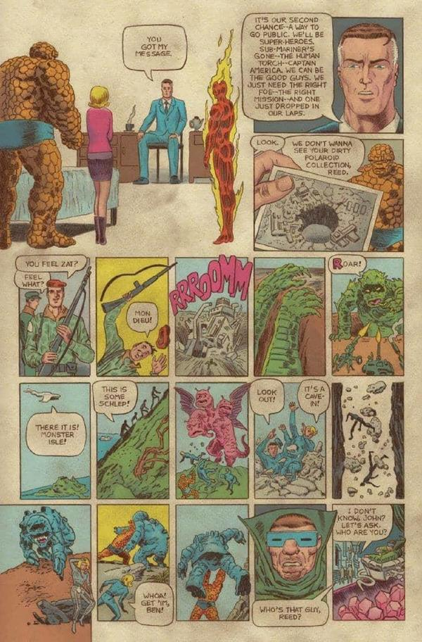 FANTASTIC FOUR: GRAND DESIGN #1 interiors by Tom ScioliFANTASTIC FOUR: GRAND DESIGN #1 interiors by Tom Scioli