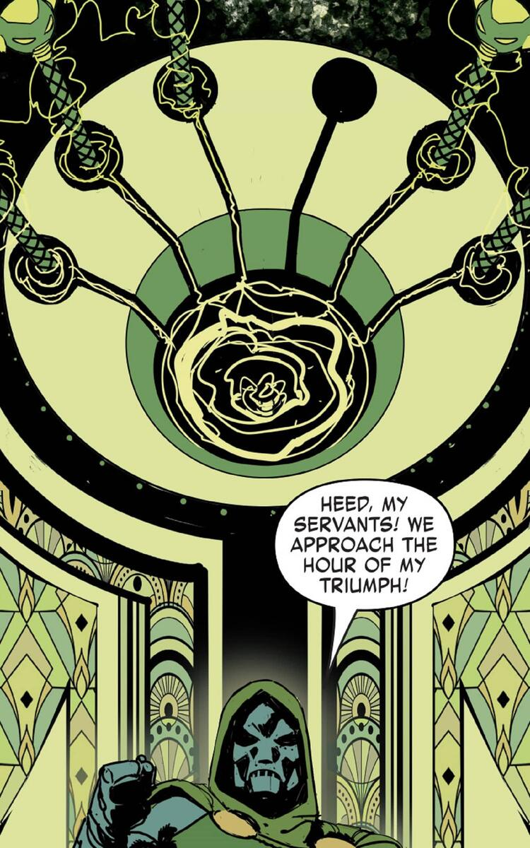 Doctor Doom wants to take over the Multiverse!