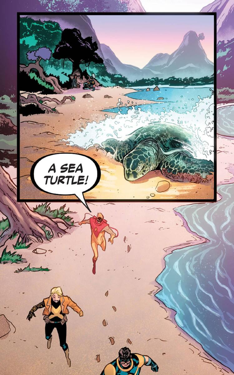 Nature Girl makes a startling discovery on the beaches of Krakoa.