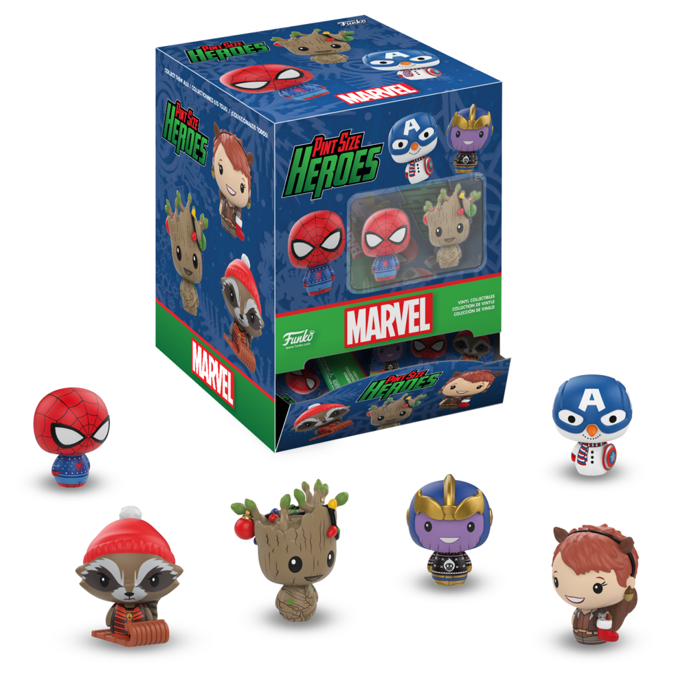 Marvel Funko Holiday Pint Size Heroes