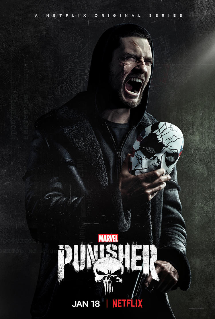 Marvel's The Punisher Season 2 Billy Russo (Ben Barnes) Poster
