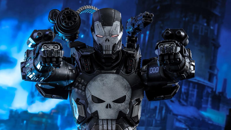 Sideshow Releasing The Punisher War Machine Hot Toys Figure | News