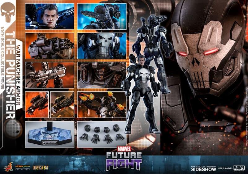 Hot Toys Punisher War Machine Figure