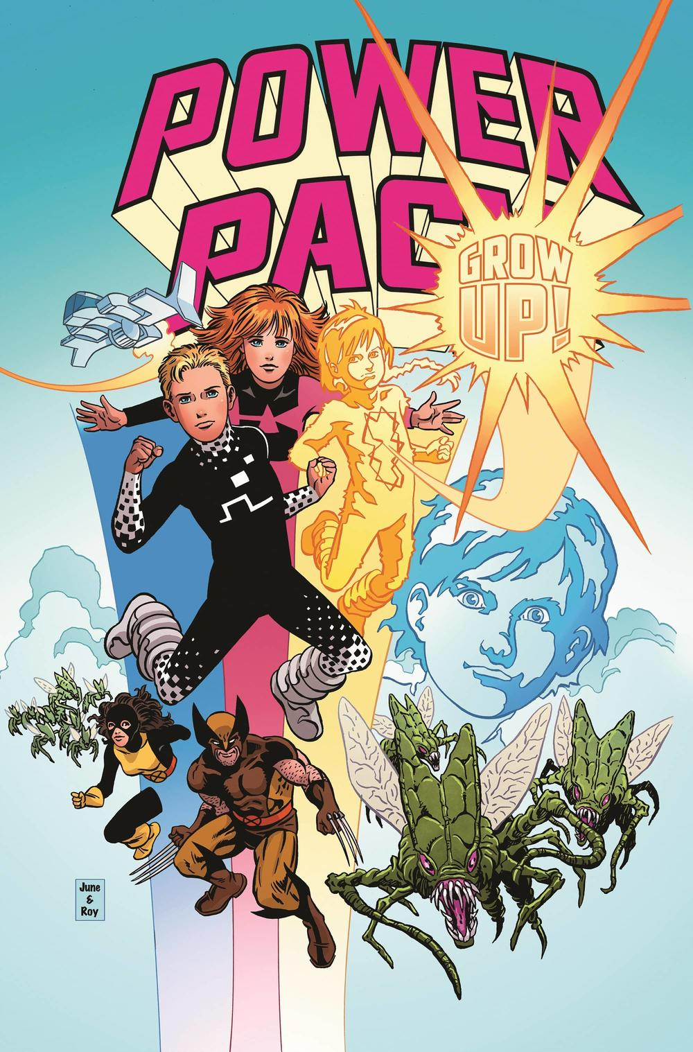 POWER PACK: GROW UP! #1 cover by June Brigman and Roy Richardson