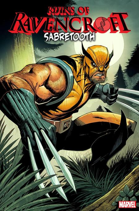 RUINS OF RAVENCROFT: SABRETOOTH #1 cover by Gerardo Sandoval