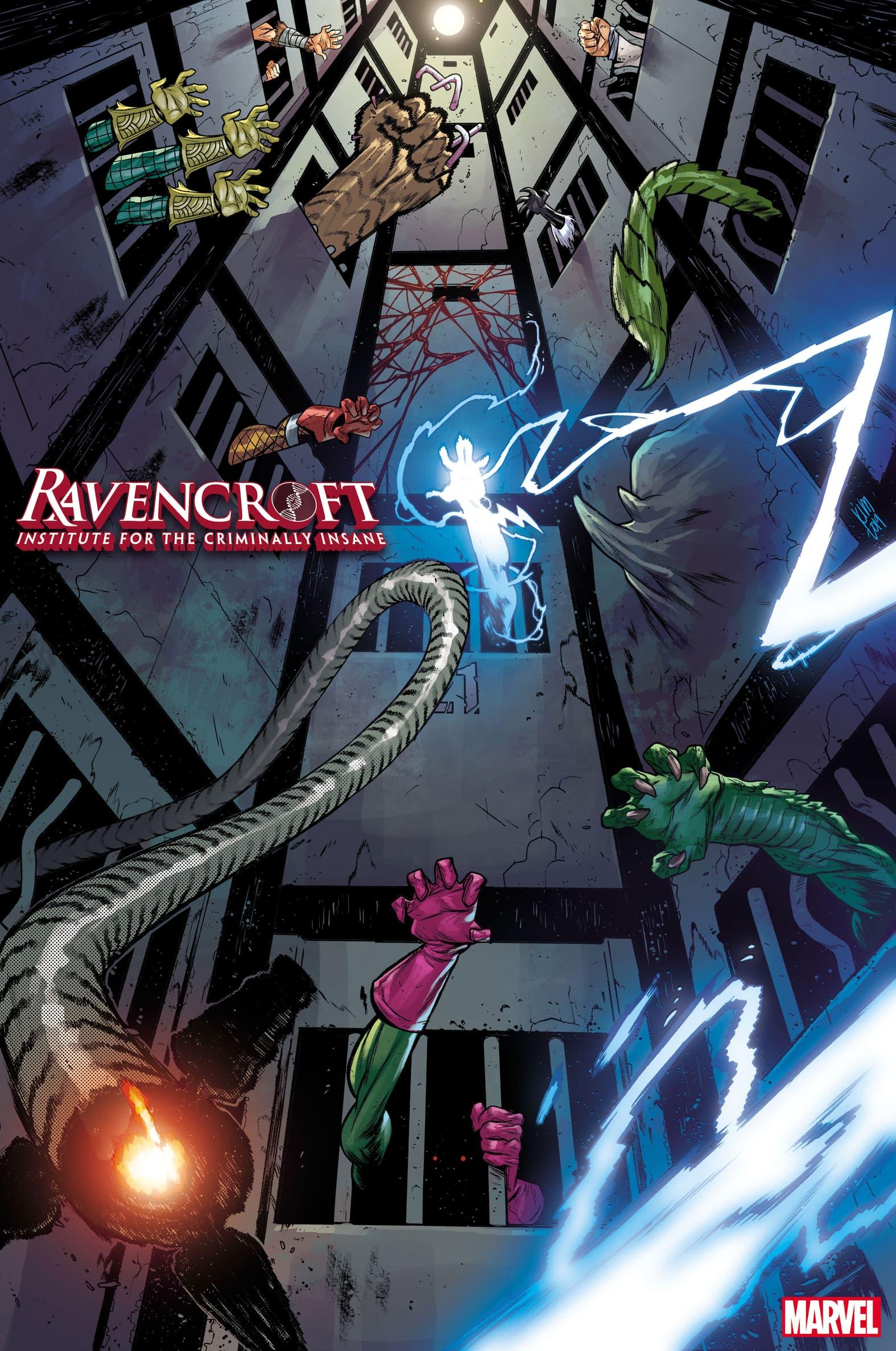 Ravencroft variant cover by Kim Jacinto