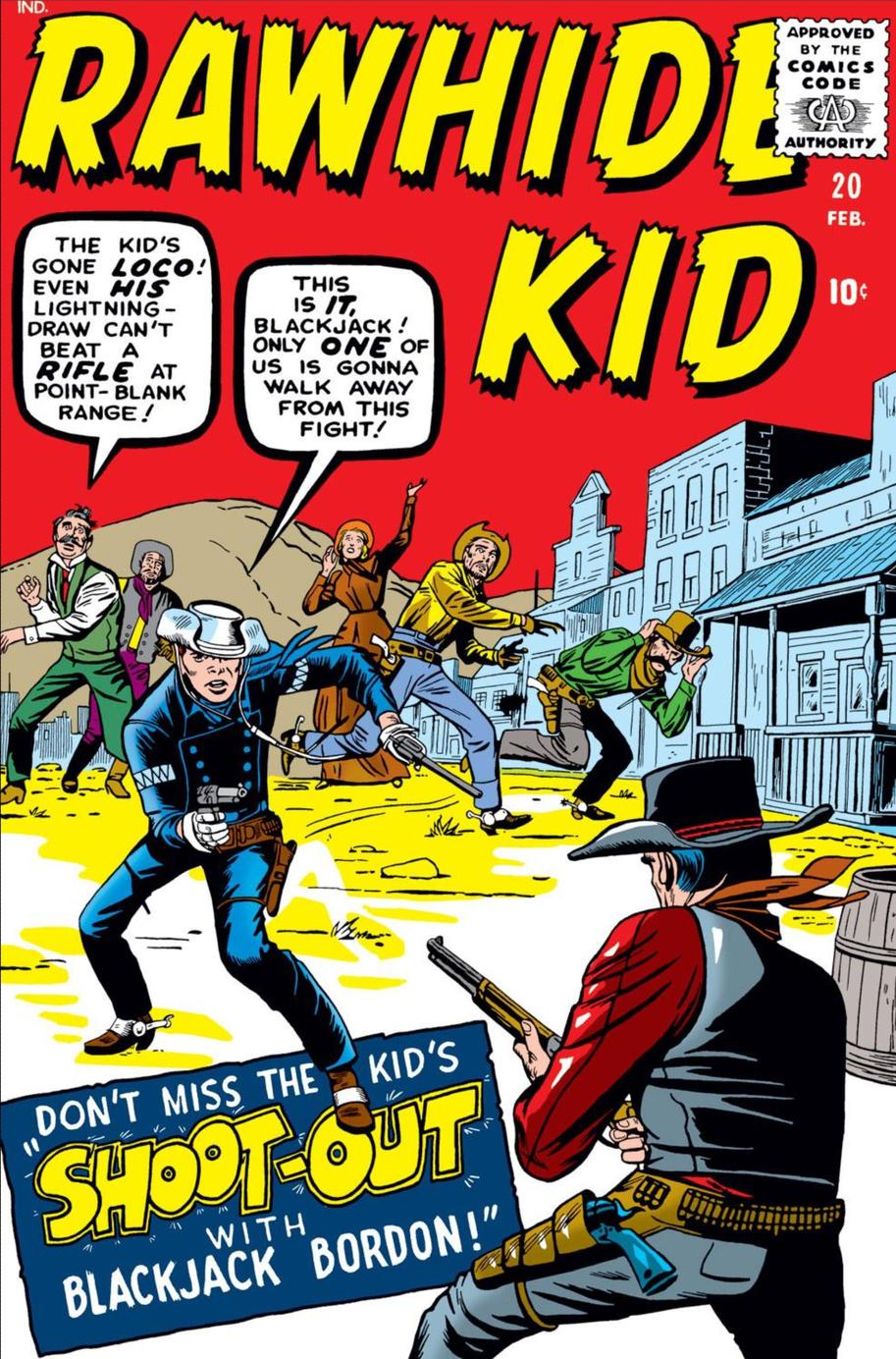 Cover of Rawhide Kid