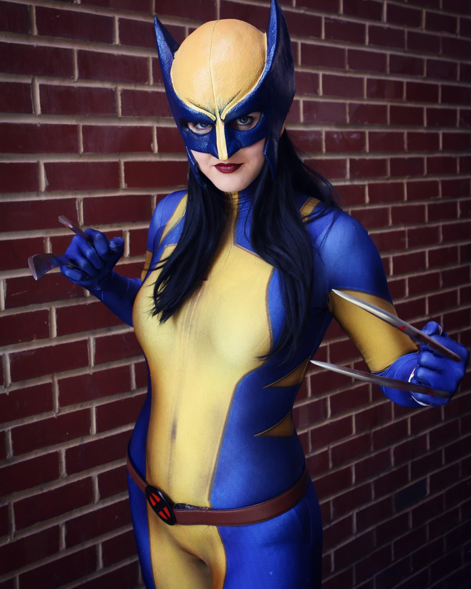 Wolverine cosplayer